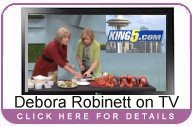 Debora Robinett on New Day Northwest.